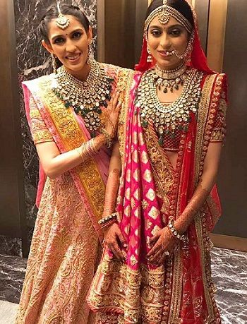 Shloka Mehta with her sister Diya Mehta