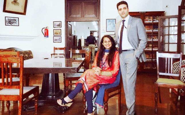 Athar Aamir Khan With Tina Dabi