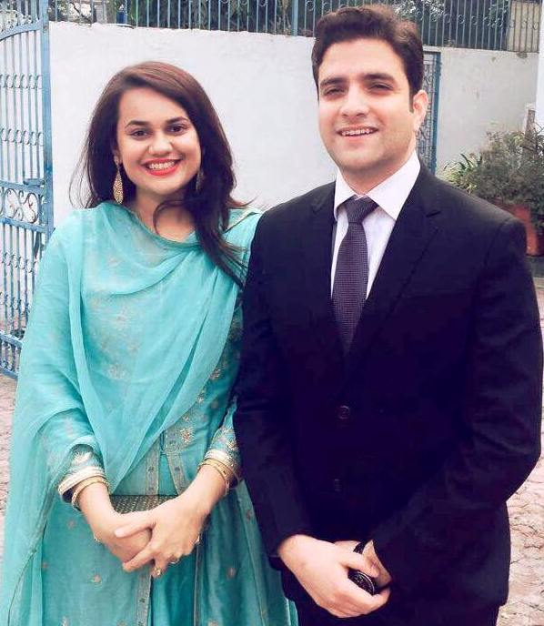 Tina Dabi With Athar Aamir Khan