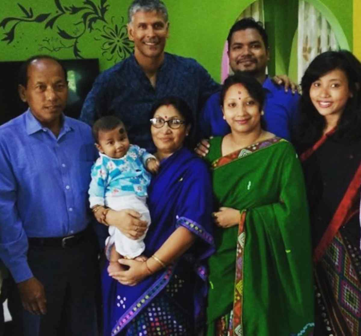 Ankita Konwar With Her Family