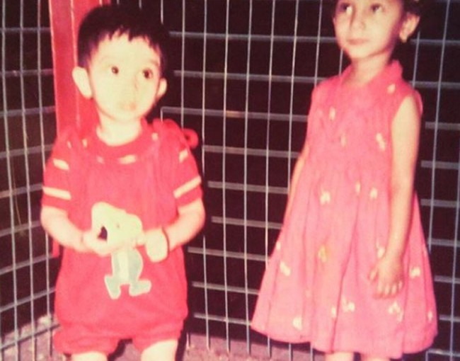 Ankita Lokhande's childhood picture