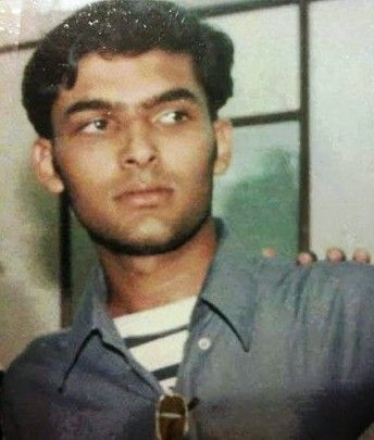 Early photo of Kapil Sharma