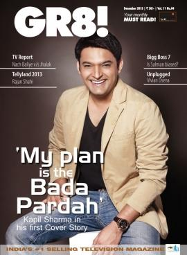 Kapil Sharma on cover of GR8! magazine