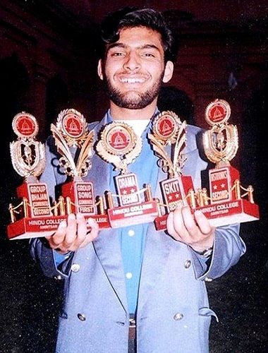Kapil Sharma received several awards during college days