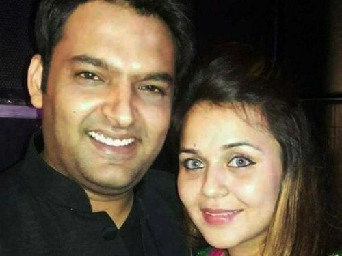 Ginni Chatrath with Kapil Sharma
