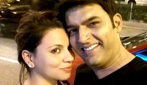 Kapil Sharma with Preeti Simoes