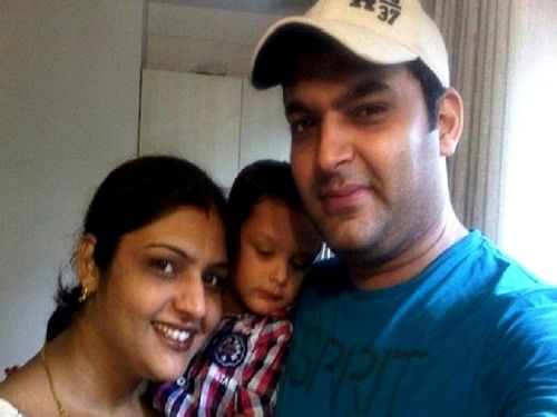 Kapil Sharma with his sister Pooja Sharma and niece