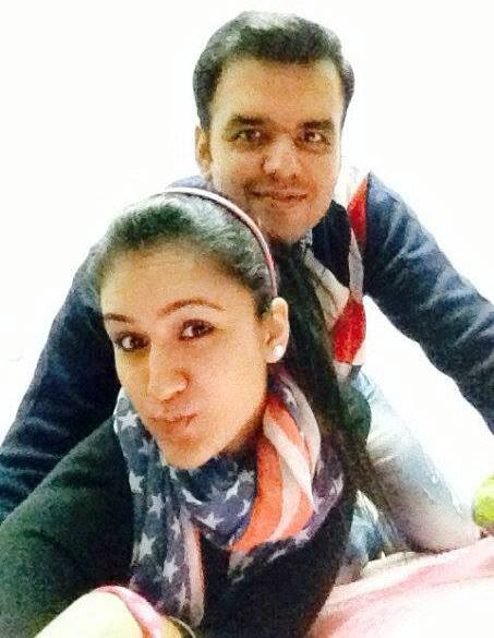 Manika Batra With Her Elder Brother Sahil