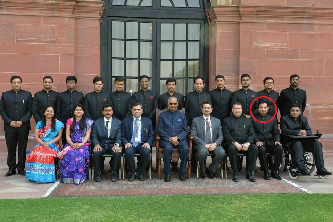 Sachin Gupta as a Assistant Director in the Ministry of Corporate Affairs