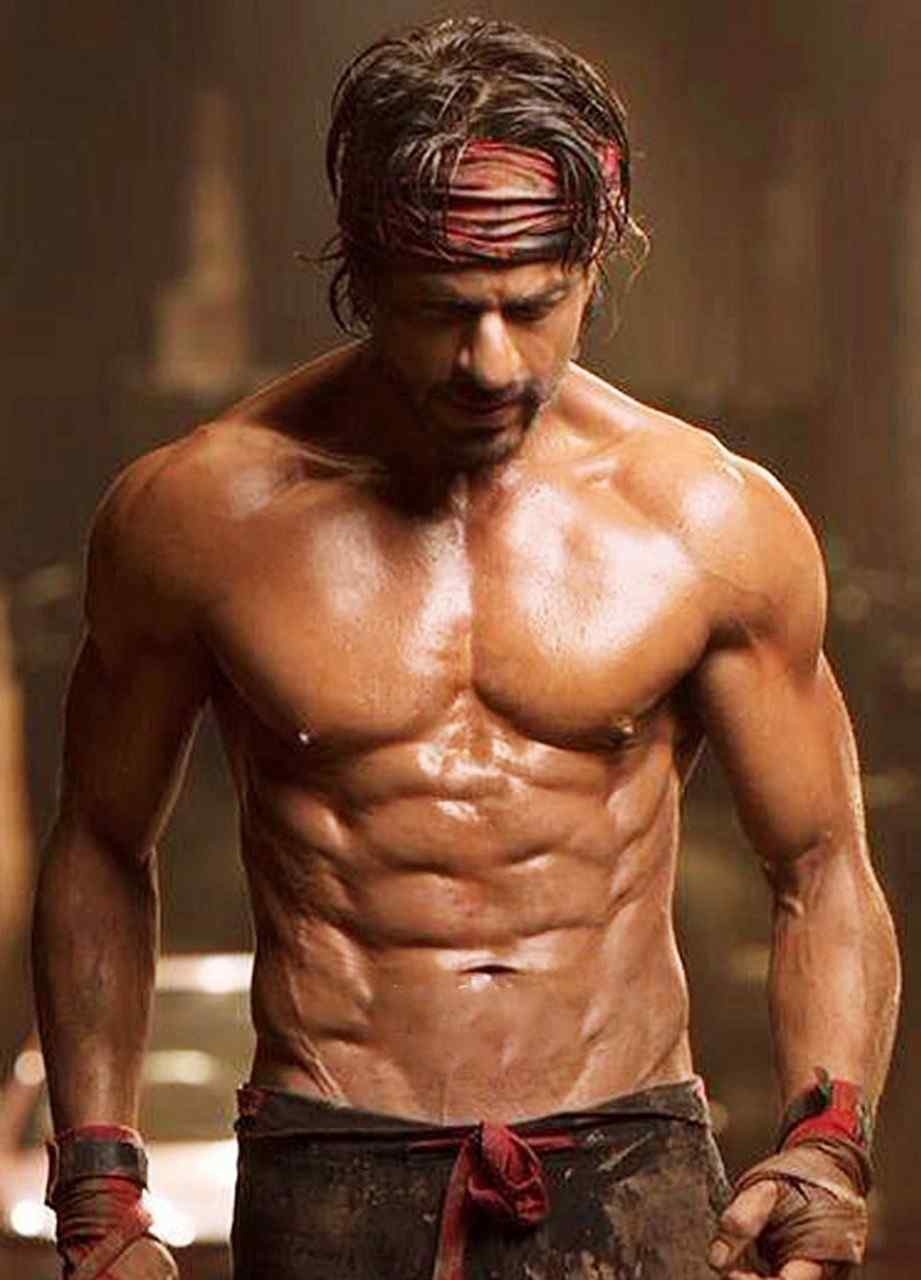 Shah Rukh Khan's 6 Pack Body