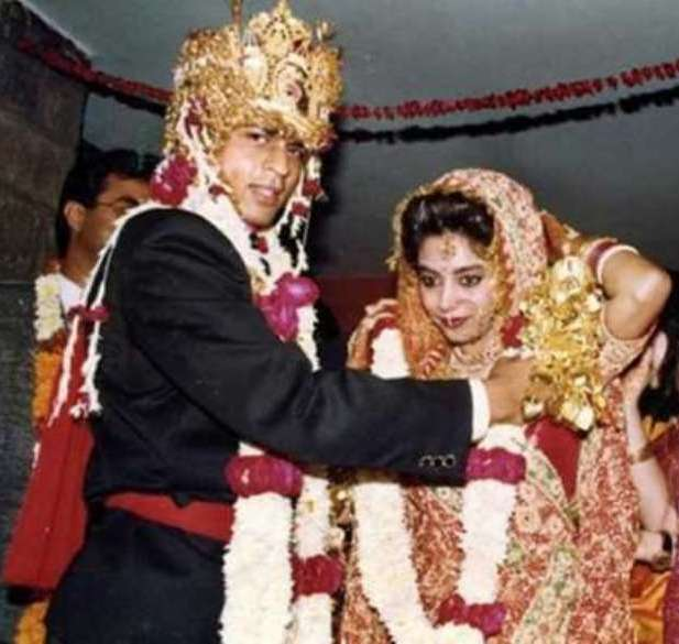 Shahrukh Khan And Gauri Khan's Wedding
