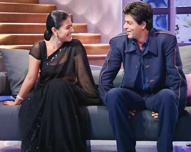 Shahrukh Khan With Bollywood Actress Kajol
