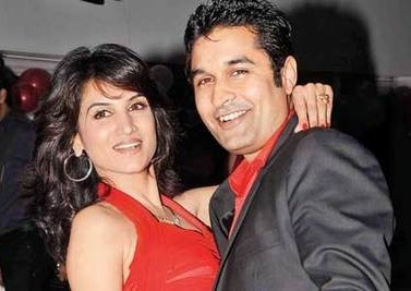 Smita Gondkar With Her Husband Siddharth Bantiya