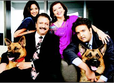 Ajay Piramal With His Family