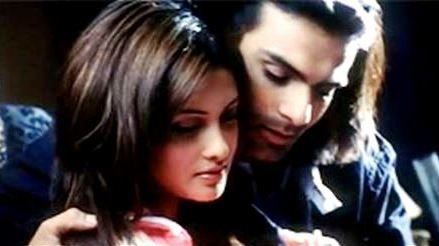 Ashmit Patel with Riya Sen