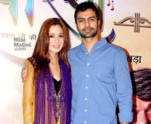 Ashmit Patel with Sara Khan