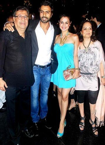 Ashmit Patel with his family