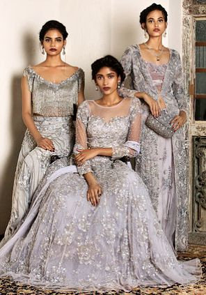 Dresses designed by Natasha Dalal