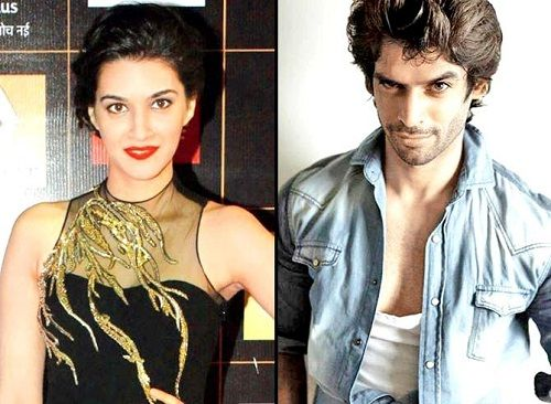 Kriti Sanon and Gaurav Arora
