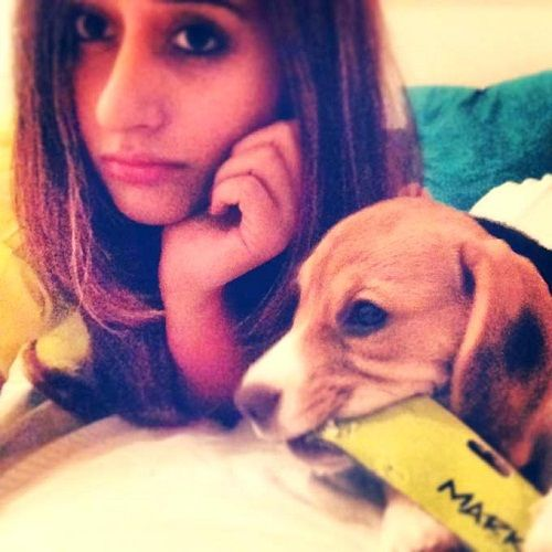 Natasha Dalal loves dogs