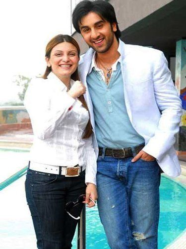 Ranbir Kapoor With His Sister Riddhima Kapoor
