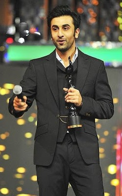 Ranbir Kapoor Won The 58th Idea Film fare Awards 2012
