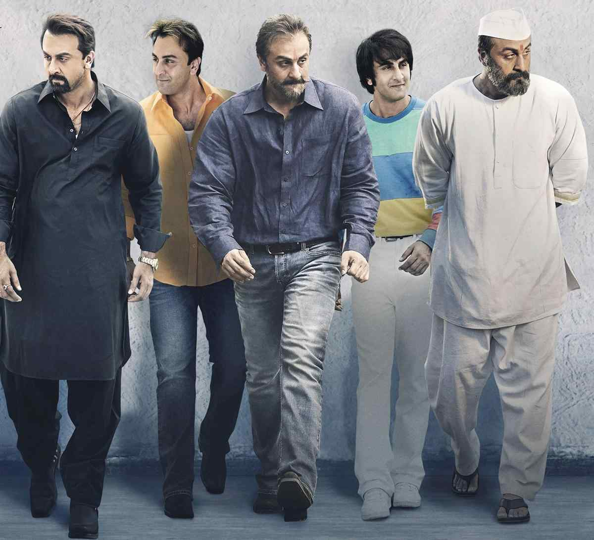Ranbir Kapoors In The Get Up Of Sanju
