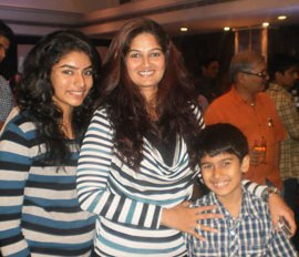 Sanjeev Seth's Ex- Wife Resham Tipnis With Her Children