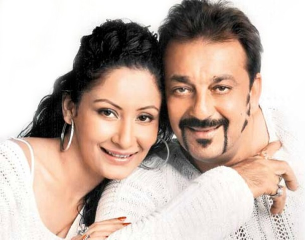 Sanjay Dutt With His Wife Manyata