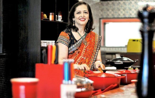 Swati Piramal cooking
