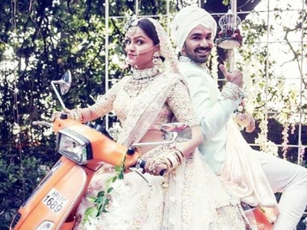 Abhinav Shukla and Rubina Dilaik marriage photo