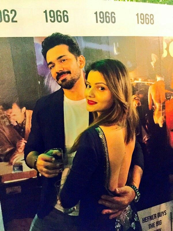 Abhinav Shukla with his wife Rubina Dilaik