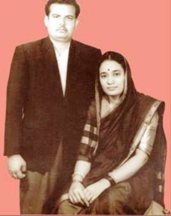 Bhayyuji Maharaj's Parents