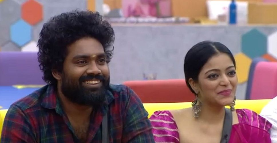 Daniel Annie Pope in the house of Tamil Bigg Boss 2