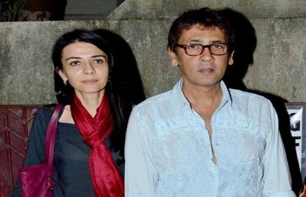 Kumar Gaurav With His Wife Namrata Dutt