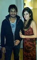 Mahat Raghavendra with Taapsee Pannu