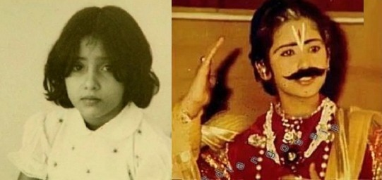 Manisha Koirala's Childhood Pictures