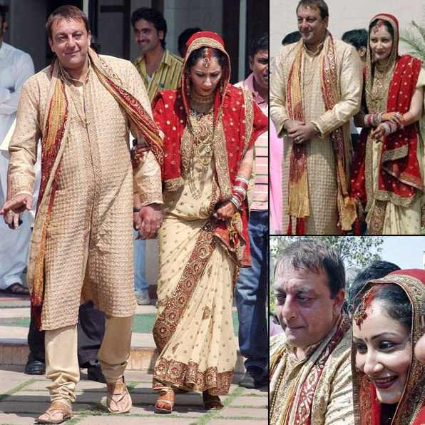 Manyata Dutt And Sanjay Dutt Marriage Photos
