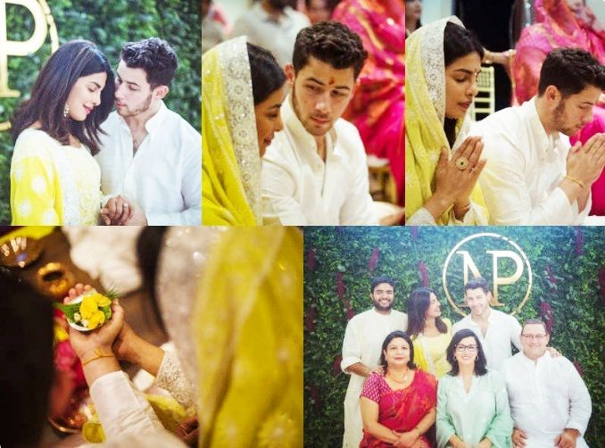 Priyanka Chopra and Nick Jonas engagement photos