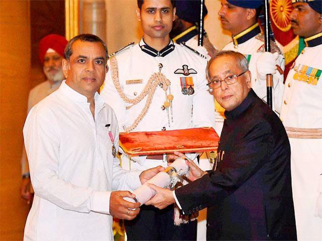 Paresh Rawal With Padma Shri