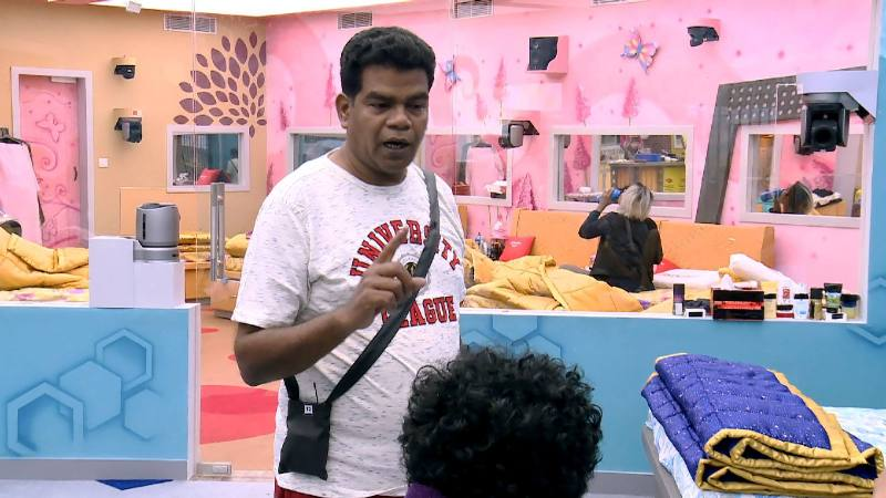Ponnambalam In The Bigg Boss House