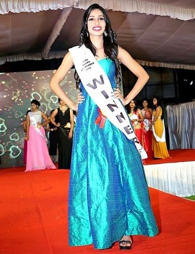Sanjana Anne - Miss Queen Hyderabad 2016