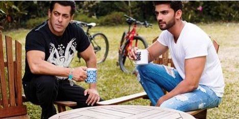 Zaheer Iqbal with Salman Khan