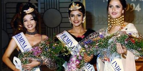 Aishwarya Rai Bachchan - Miss India first runner-up