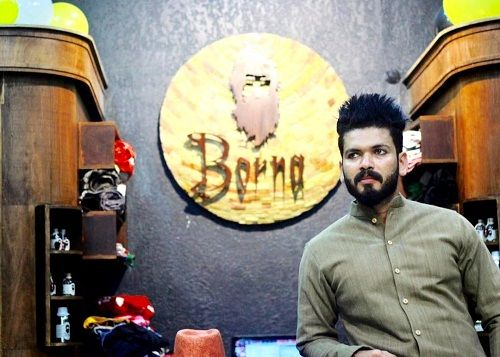 Basheer Bashi runs a clothing store - Borna Fashion Hub
