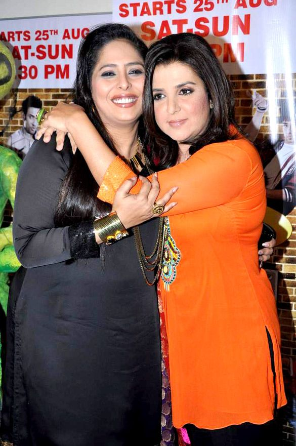 Geeta Kapur with Farah Khan