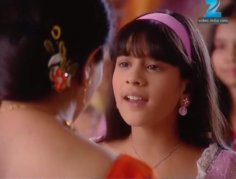 Hiba Nawab as a child artist in Saat Phere - Saloni Ka Safar
