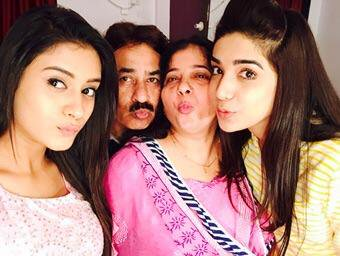 Hiba Nawab with her family