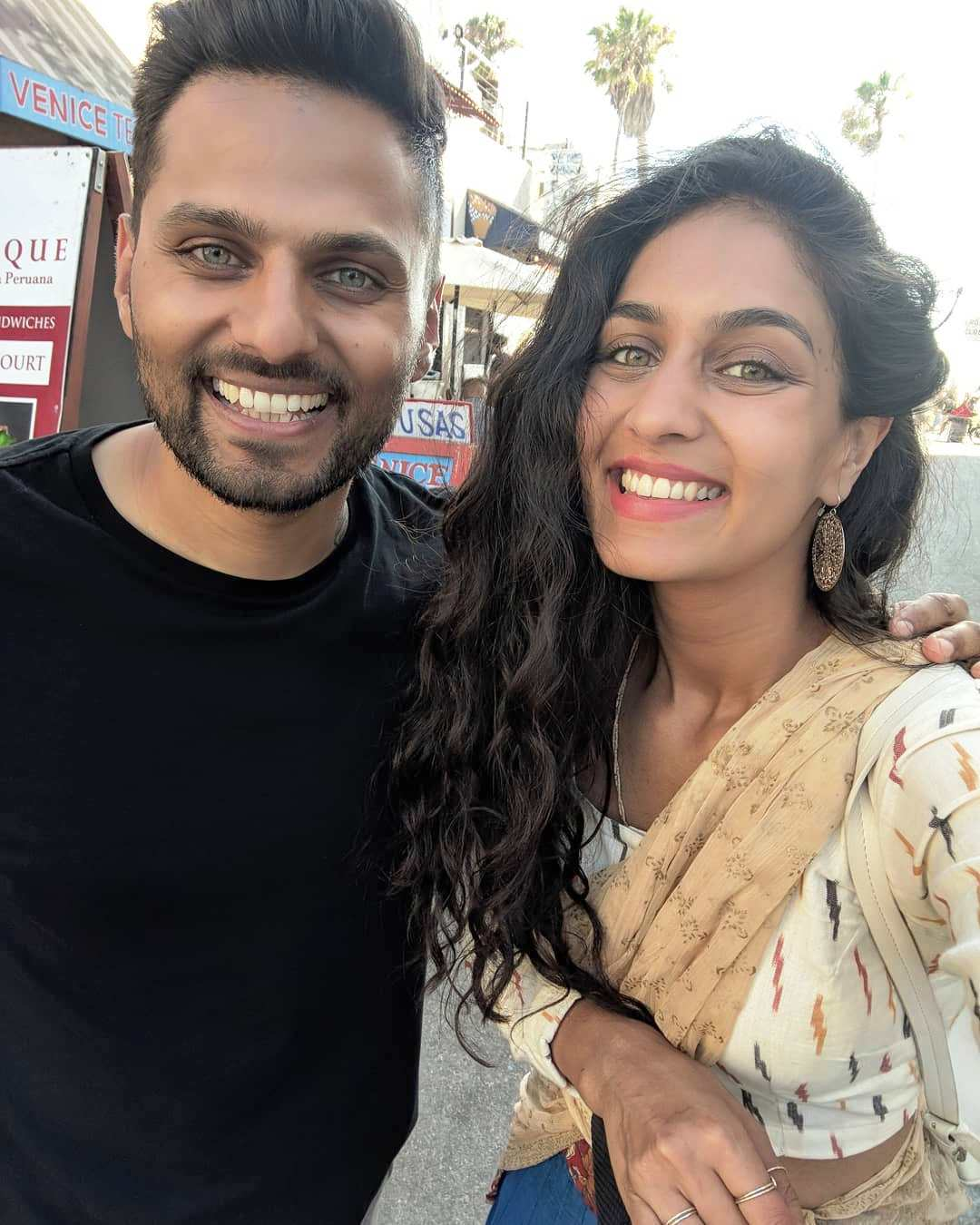 Jay Shetty with his wife Roshni Devlukia Shetty