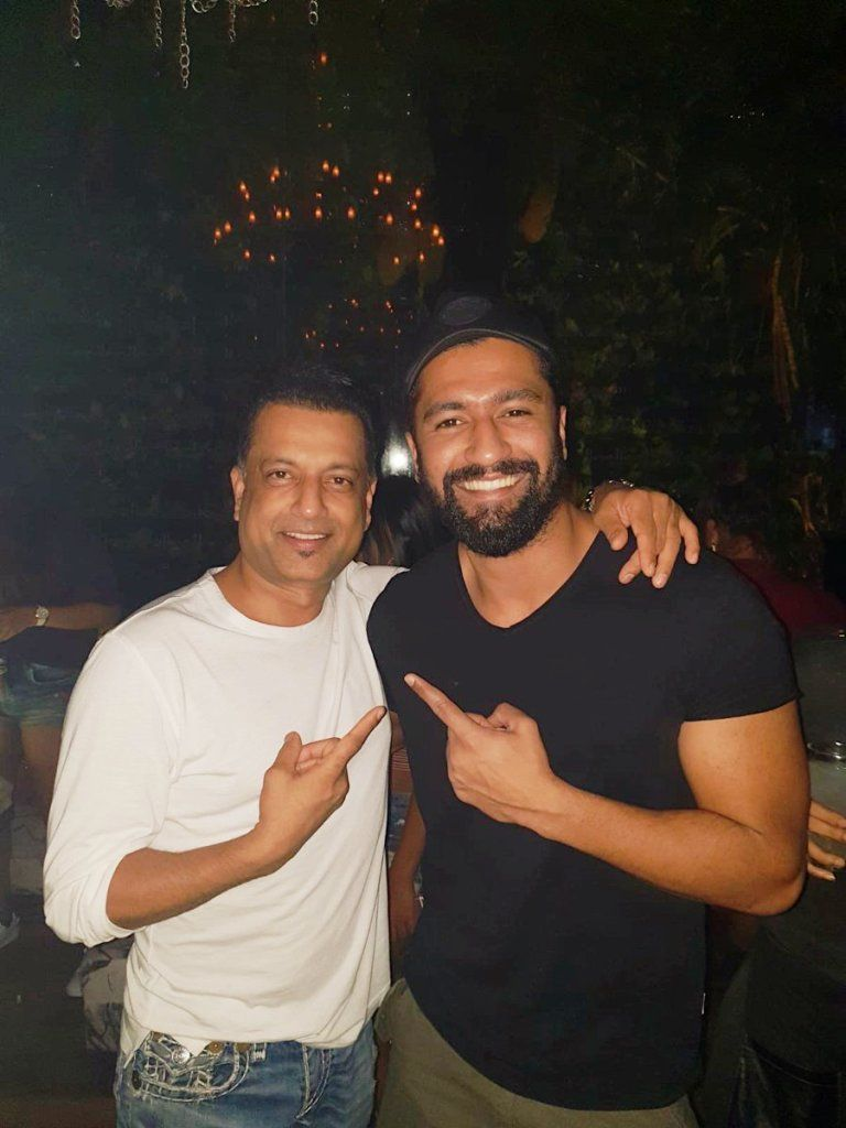 Paresh Ghelani or Paria (left) and Vicky Kaushal or Kamli (right)